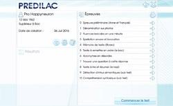 Protocole d'évaluation et de dépistage des insuffisances du langage et des aptitudes cognitives