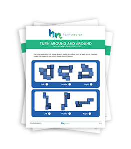 Free Worksheets for Visual and Spatial Skills