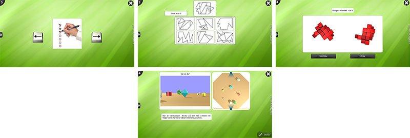 Visual & Spatial Exercises