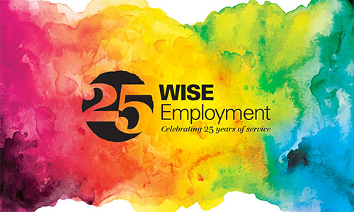Wise Employment 25 years of Service