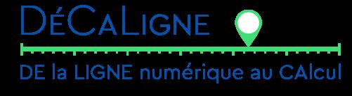 Décaligne exercices Dyscalculie, jeux dyscalculie et exercices rééducation logico mathématique et cognition mathématique issus de LaLigne Numérique Examath 8 15 - Logo