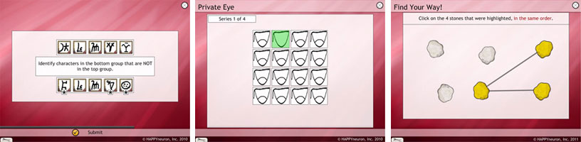 Visual Attention Exercises